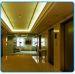 Lobby with Elevator